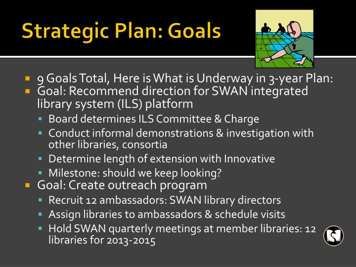 Strategic Plan: Goals
