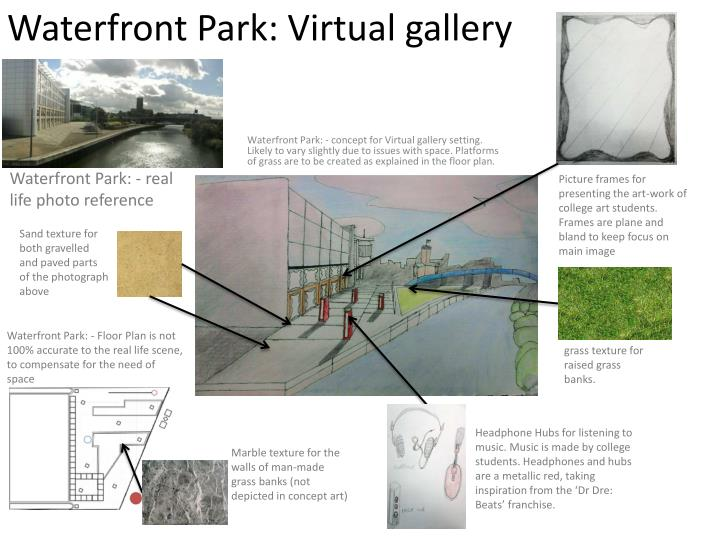 Waterfront park virtual gallery