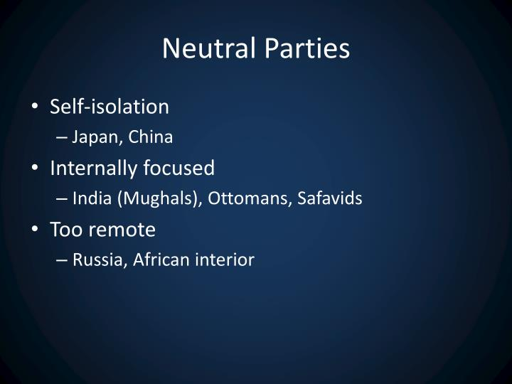 Neutral Parties