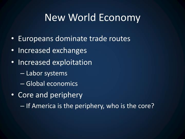 New World Economy