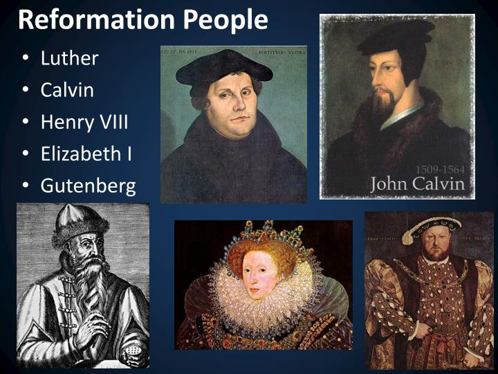 Reformation People