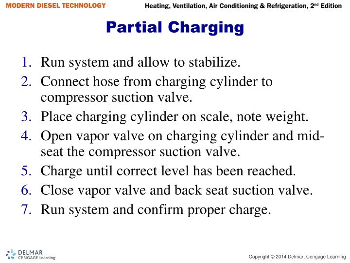 Partial Charging