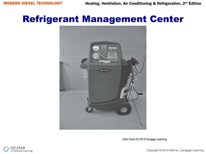 Refrigerant Management Center