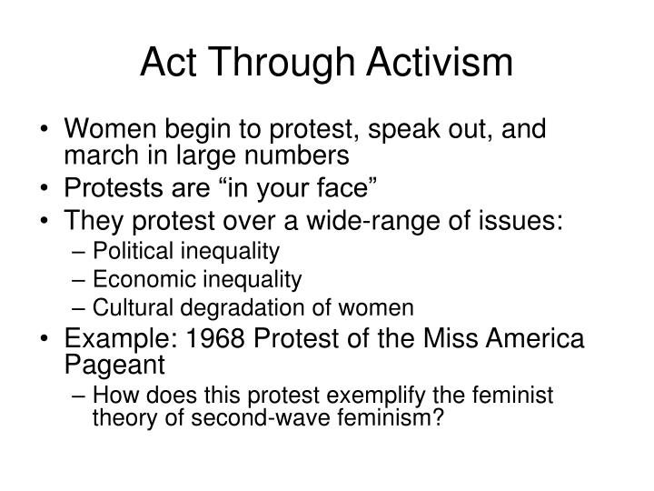 Act Through Activism