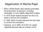 illegalization of marital rape