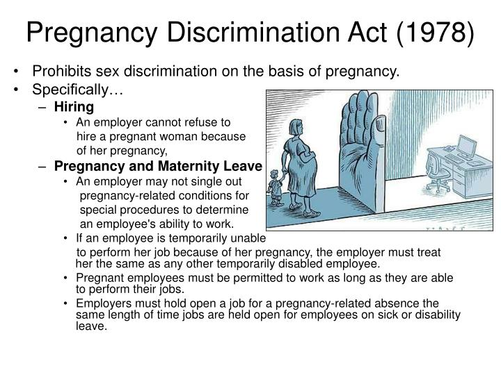 Pregnancy Discrimination Act (1978)