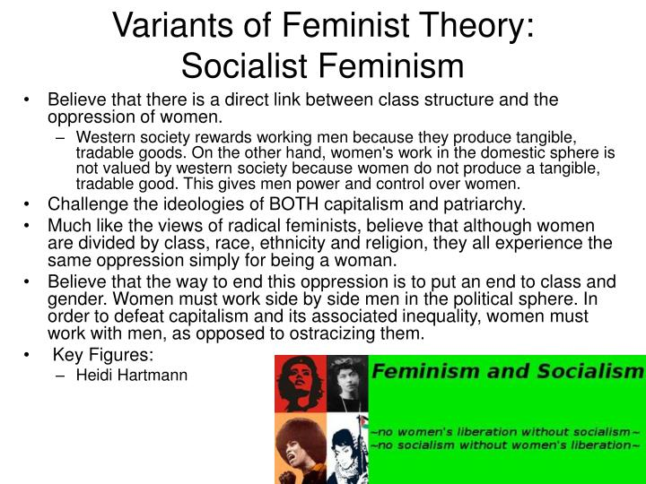 Variants of Feminist Theory: