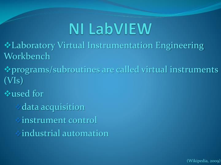 NI LabVIEW