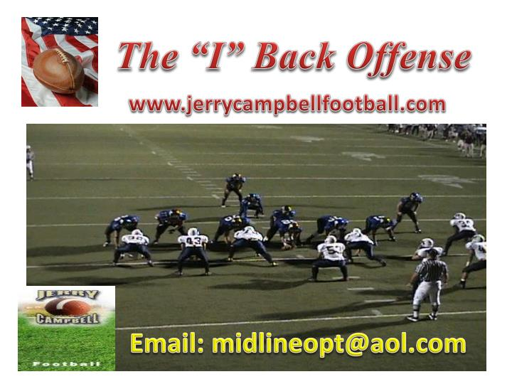 "The ""I"" Back Offense"