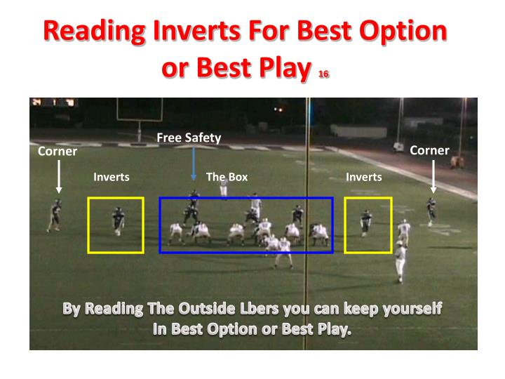 Reading Inverts For Best Option