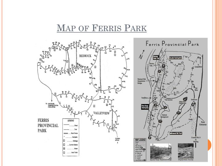 Map of Ferris Park