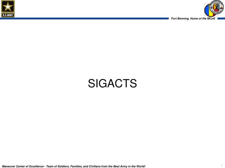 Sigacts