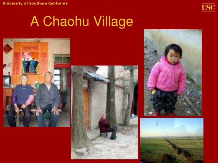A Chaohu Village