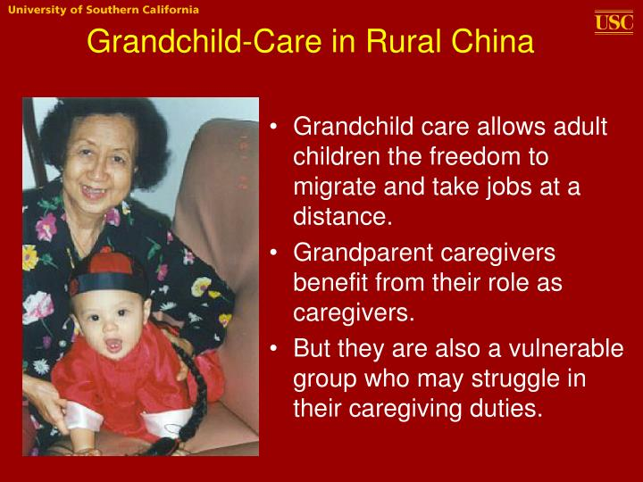 Grandchild-Care in Rural China