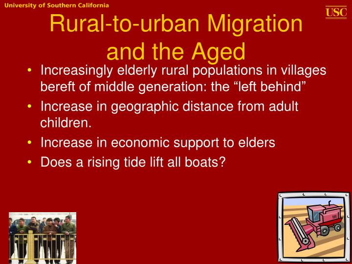 Rural-to-urban Migration and the Aged