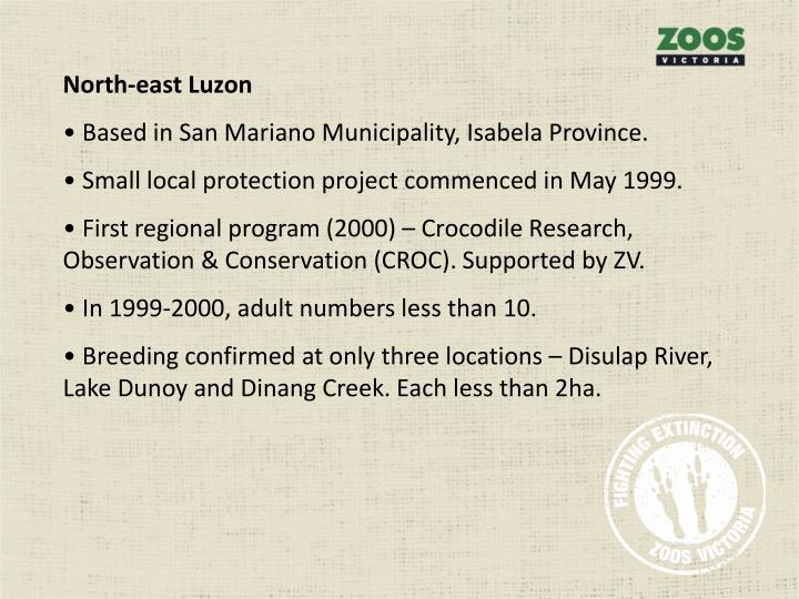 North-east Luzon