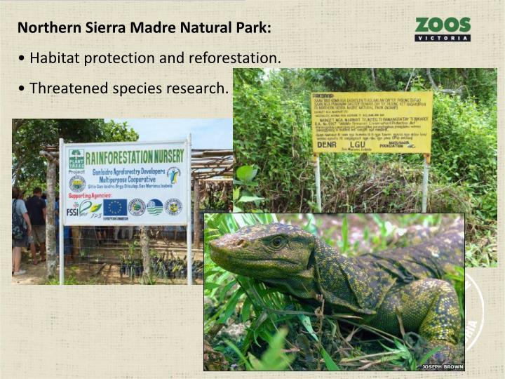 Northern Sierra Madre Natural Park: