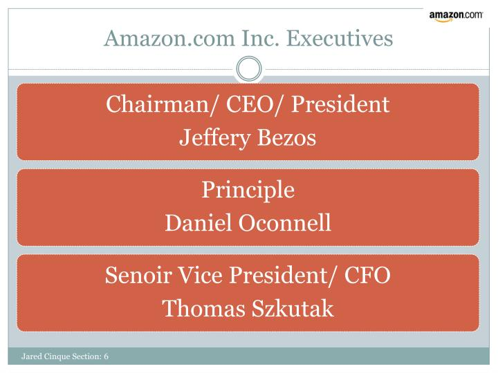 Amazon.com Inc. Executives