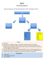 sort processing step 2