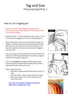 tag and size processing step 4 pg 2