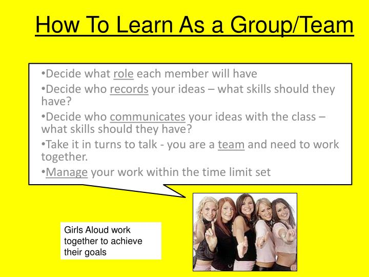 How To Learn As a Group/Team