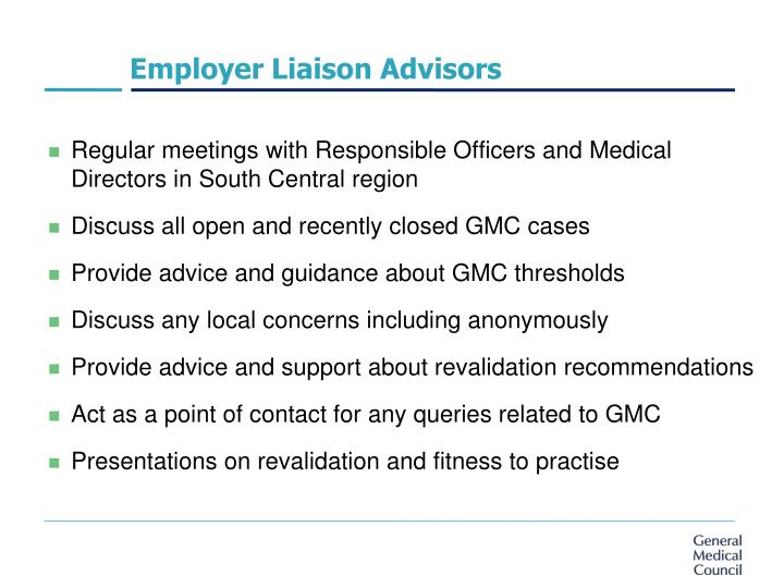 Employer Liaison Advisors