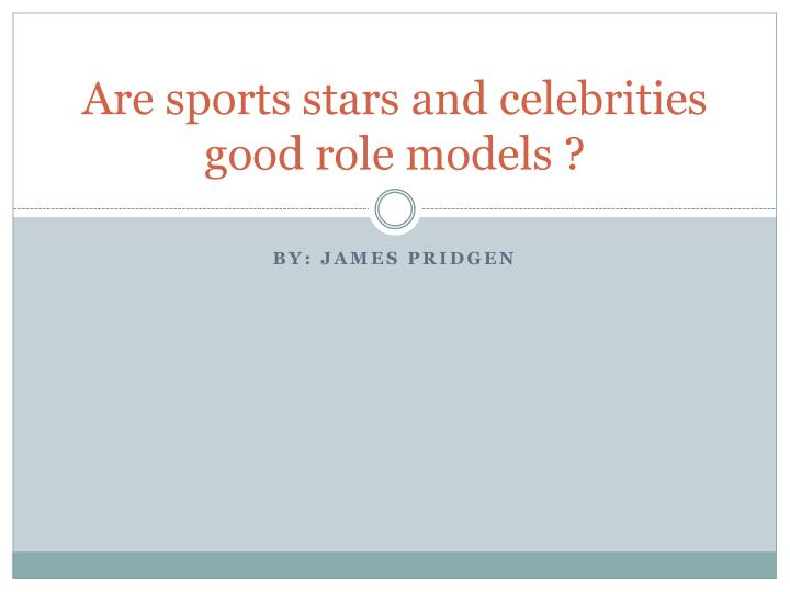 Are Athletes Good Role Models? | Psychology Today