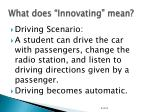 what does innovating mean1