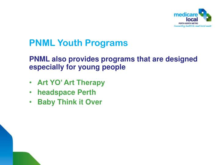 PNML Youth Programs