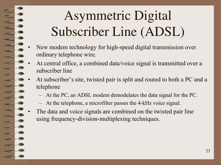 Asymmetric Digital