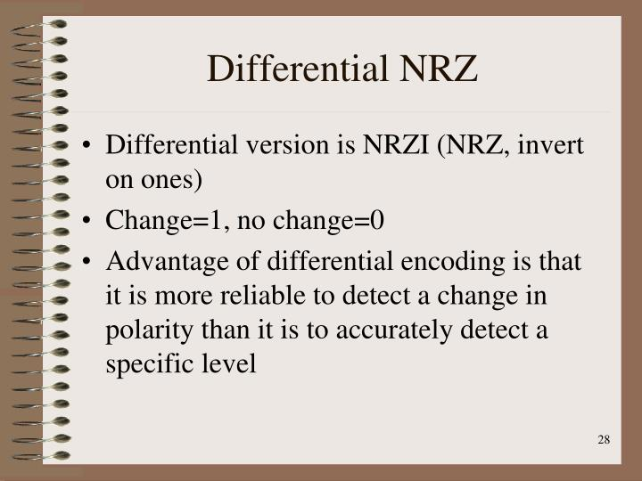 Differential NRZ