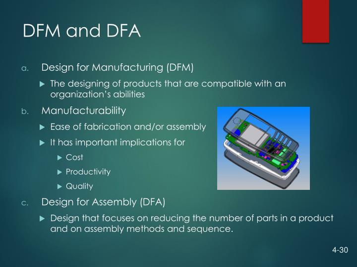 DFM and DFA