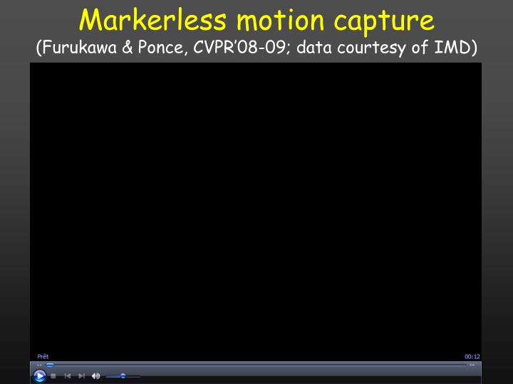 Markerless