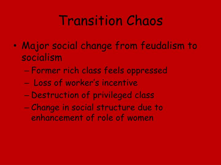 Transition Chaos