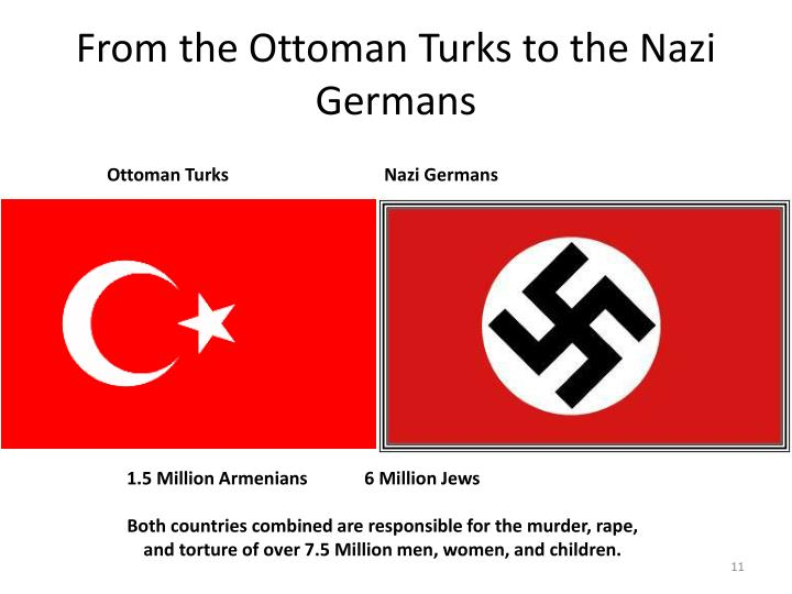 From the Ottoman Turks to the Nazi Germans