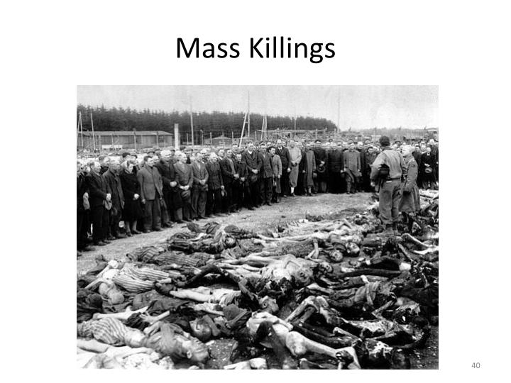 Mass Killings