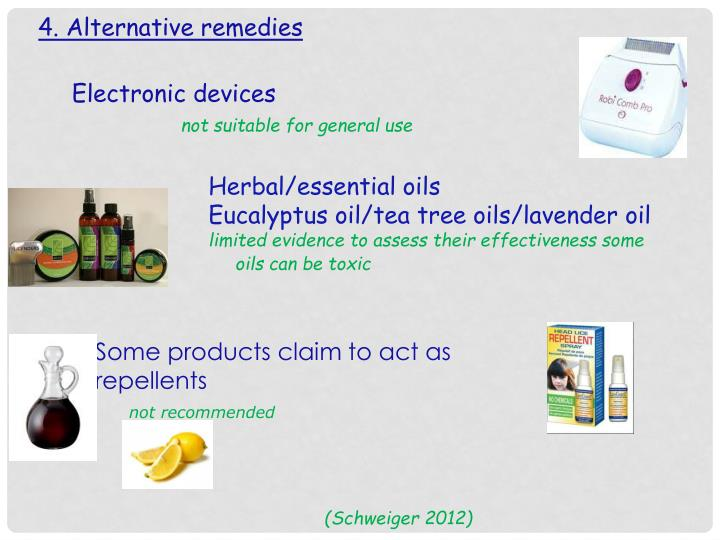4. Alternative remedies