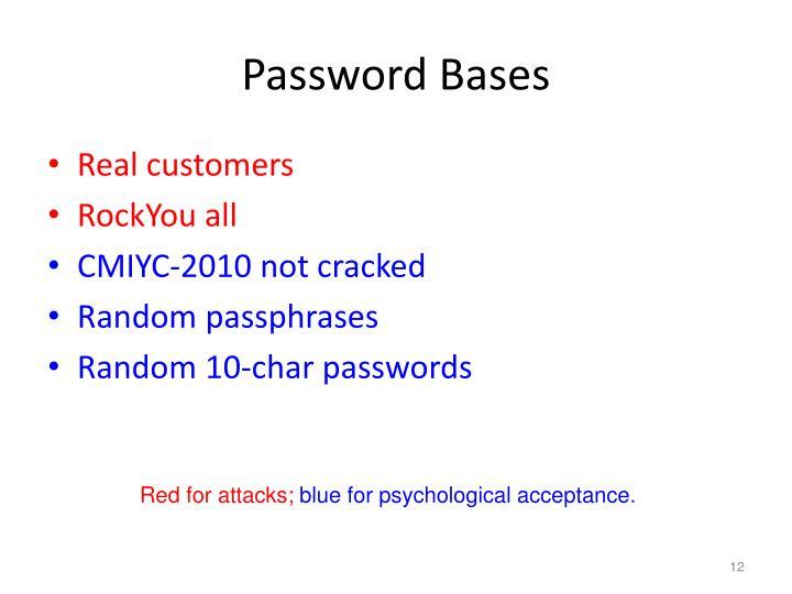 Password Bases