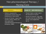 non pharmacological therapy nursing care3