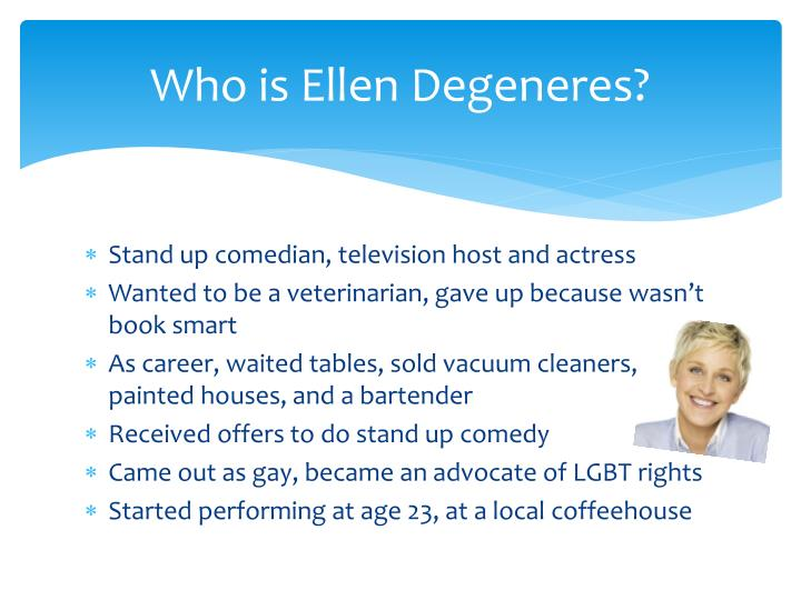 Who is Ellen