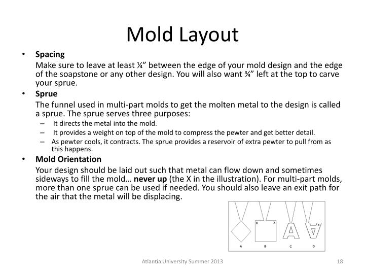 Mold Layout