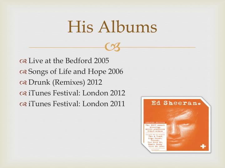 His Albums