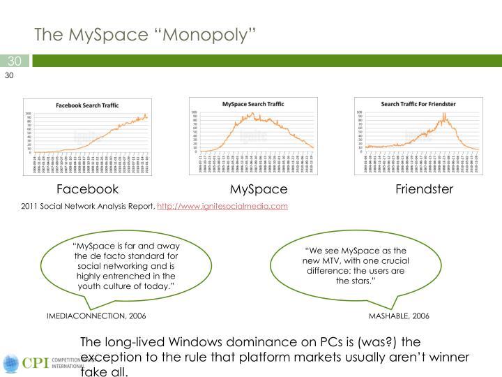 "The MySpace ""Monopoly"