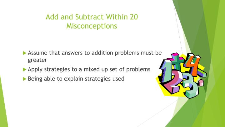 Add and Subtract Within