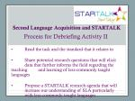 second language acquisition and startalk4