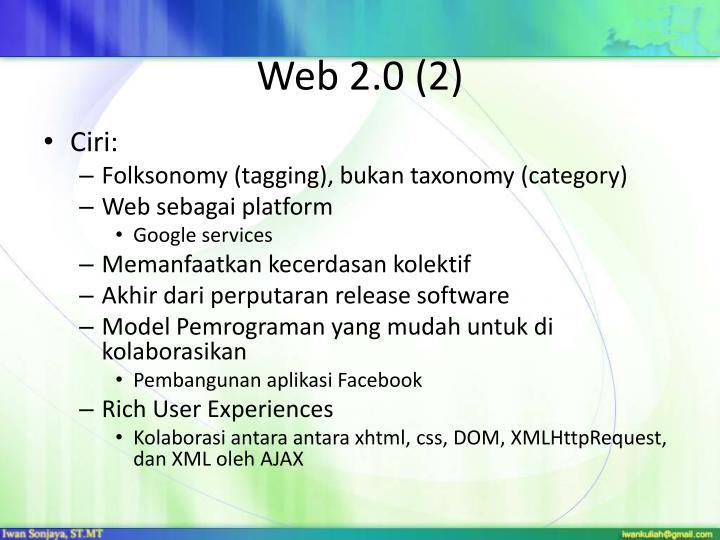 Web 2.0 (2)