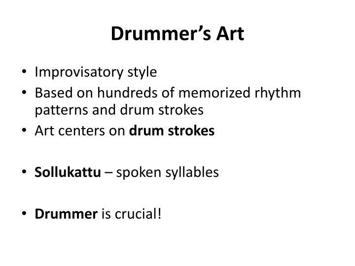 Drummer's Art