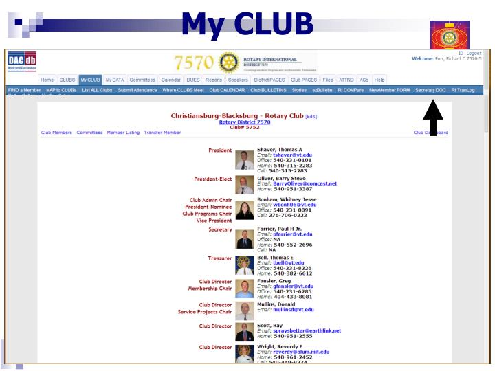 My CLUB