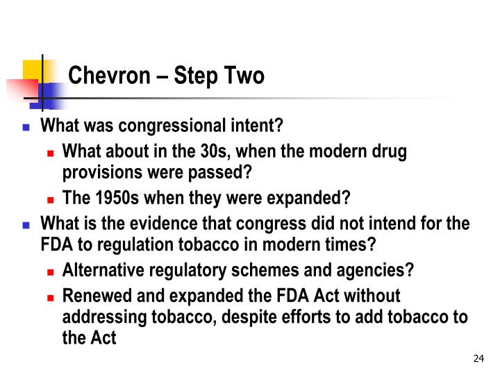 Chevron – Step Two