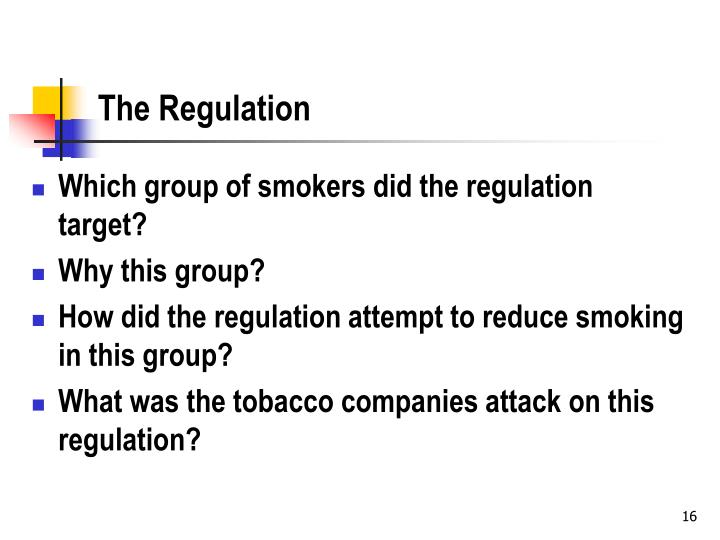 The Regulation